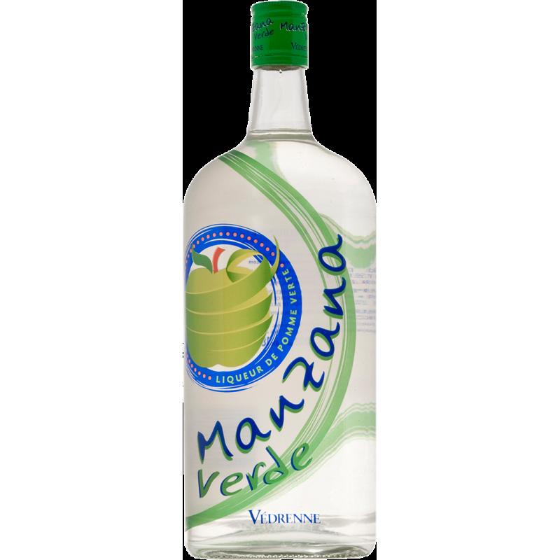 Liqueur de Manzana Verde VEDRENNE 18% - 100cl Vedrenne - 1