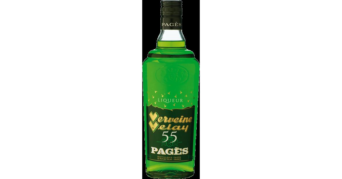 Liqueur Verveine du Velay PAGÈS 55% - 70cl Pagès - 1