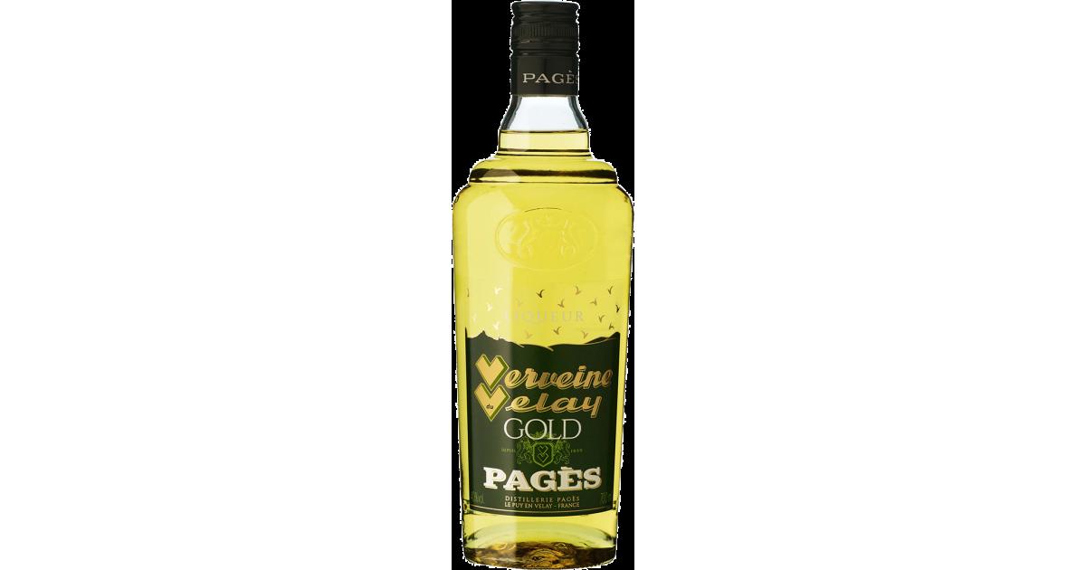 Liqueur Verveine du Velay Gold PAGÈS 40% - 70cl Pagès - 1