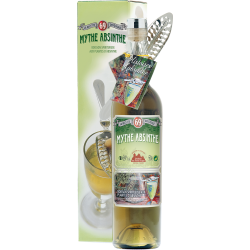 Mythe Absinthe DISTILLERIE DES TERRES ROUGES 69% - 50cl