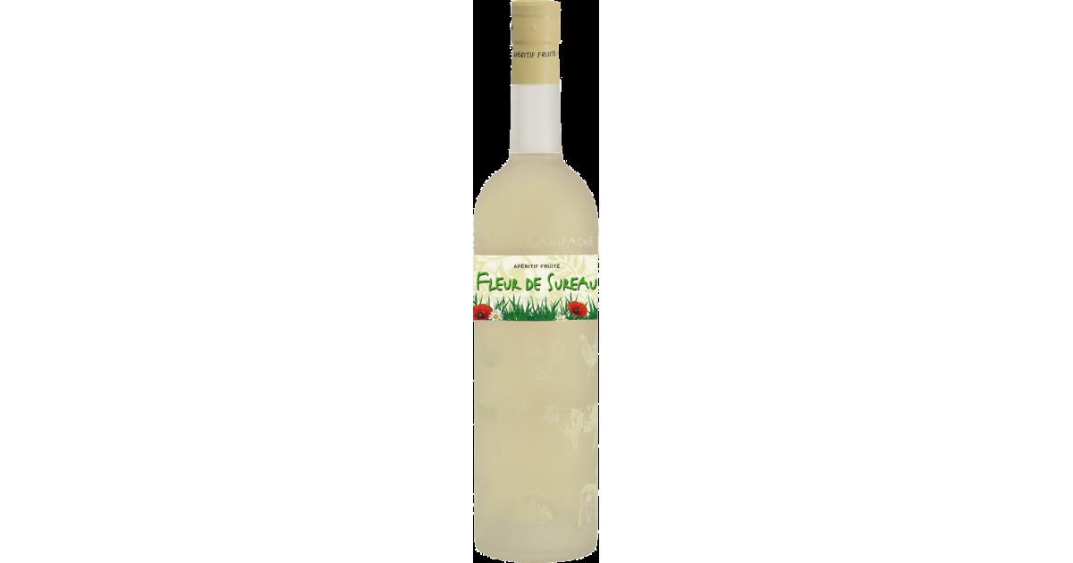 Partie de Campagne - Fleur de Sureau Vin aromatisé DISTILLERIE DES TERRES ROUGES 12% - 75cl Distillerie des terres rouges - 1