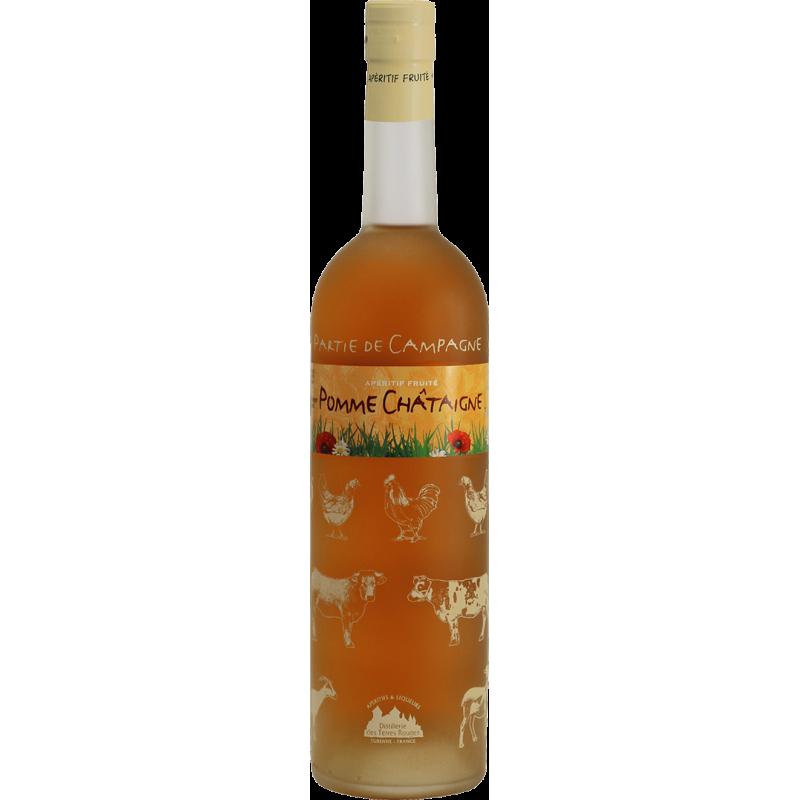 Partie de Campagne - Pomme-Châtaigne Vin aromatisé DISTILLERIE DES TERRES ROUGES 12% - 75cl Distillerie des terres rouges - 1