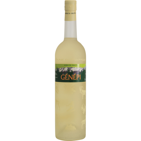 Balade en Montagne - Génépi Vin aromatisé DISTILLERIE DES TERRES ROUGES 12% - 75cl Distillerie des terres rouges - 1