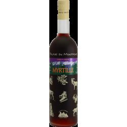 Balade en Montagne - Myrtille Vin aromatisé DISTILLERIE DES TERRES ROUGES 12% - 75cl