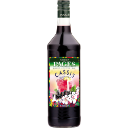 Sirop Cassis 100cl - PAGÈS