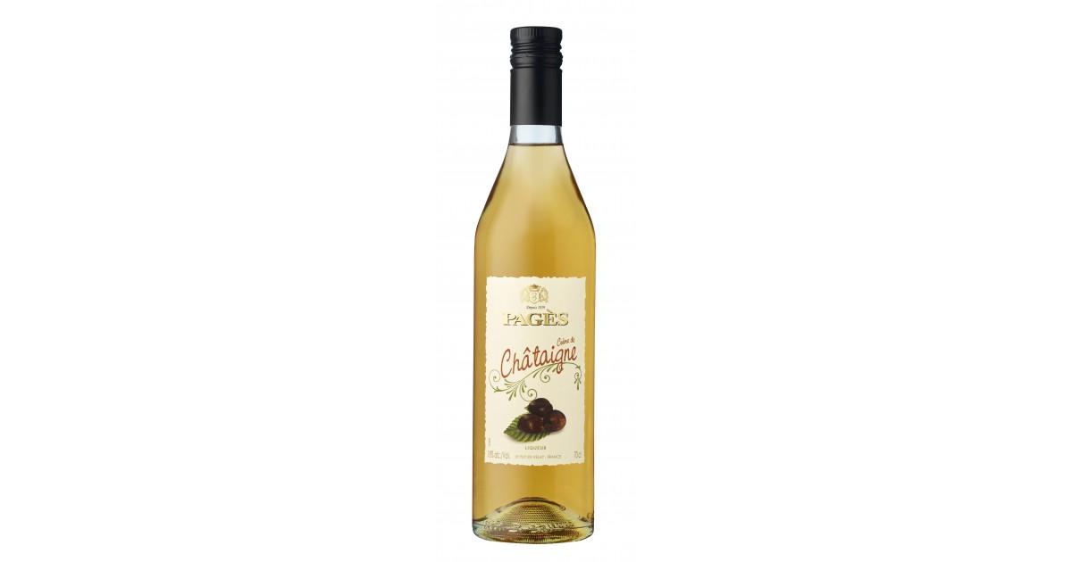 Crème de Châtaigne PAGÈS 18% - 70cl Pagès - 2