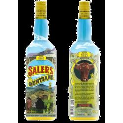 Liqueur de Gentiane SALERS décorée 16% - 100cl