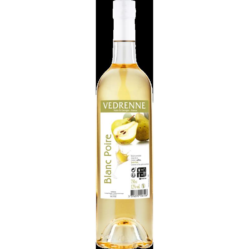 Vin aromatisé Blanc Poire VEDRENNE 12% - 75cl Vedrenne - 1