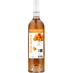 Vin aromatisé Pêche-Abricot VEDRENNE 12% - 75cl