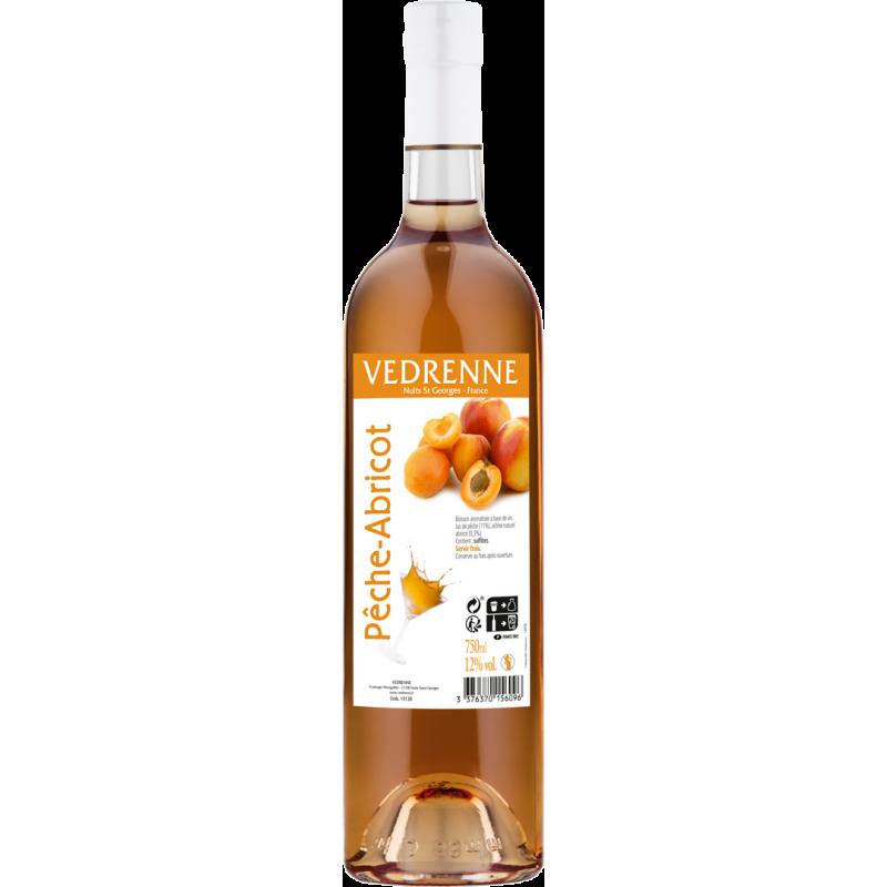 Vin aromatisé Pêche-Abricot VEDRENNE 12% - 75cl Vedrenne - 1