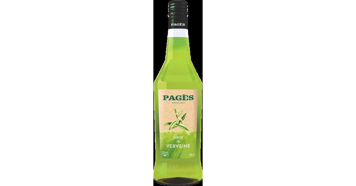 Sirop Verveine PAGÈS 70cl Pagès - 1