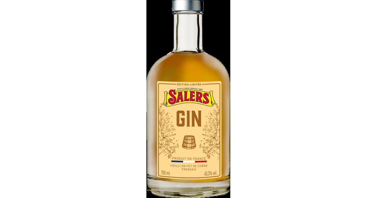 Gin SALERS Vieilli édition limitée 40,3% - 70cl Salers - 1